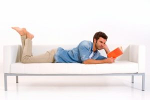 Relaxation is one of the Advantages of Reading Books