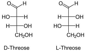threose a carbohydrate monomer