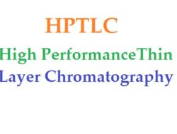 High performance thin layer chromatography