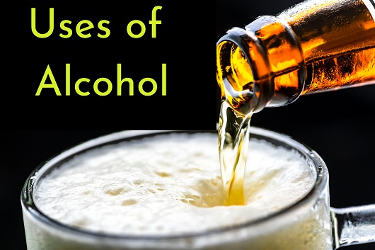 Uses of alcohol