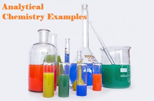 Analytical Chemistry Examples