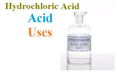 uses of hydrochloric acid