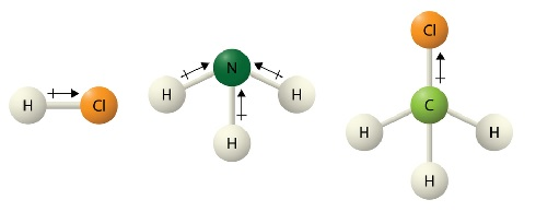 Polar covalent bond a Types of Bonds