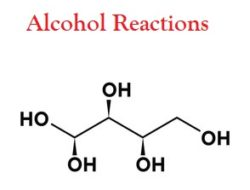 alcohol reactions